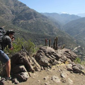 Yerba Loca HIking Tour Santiago
