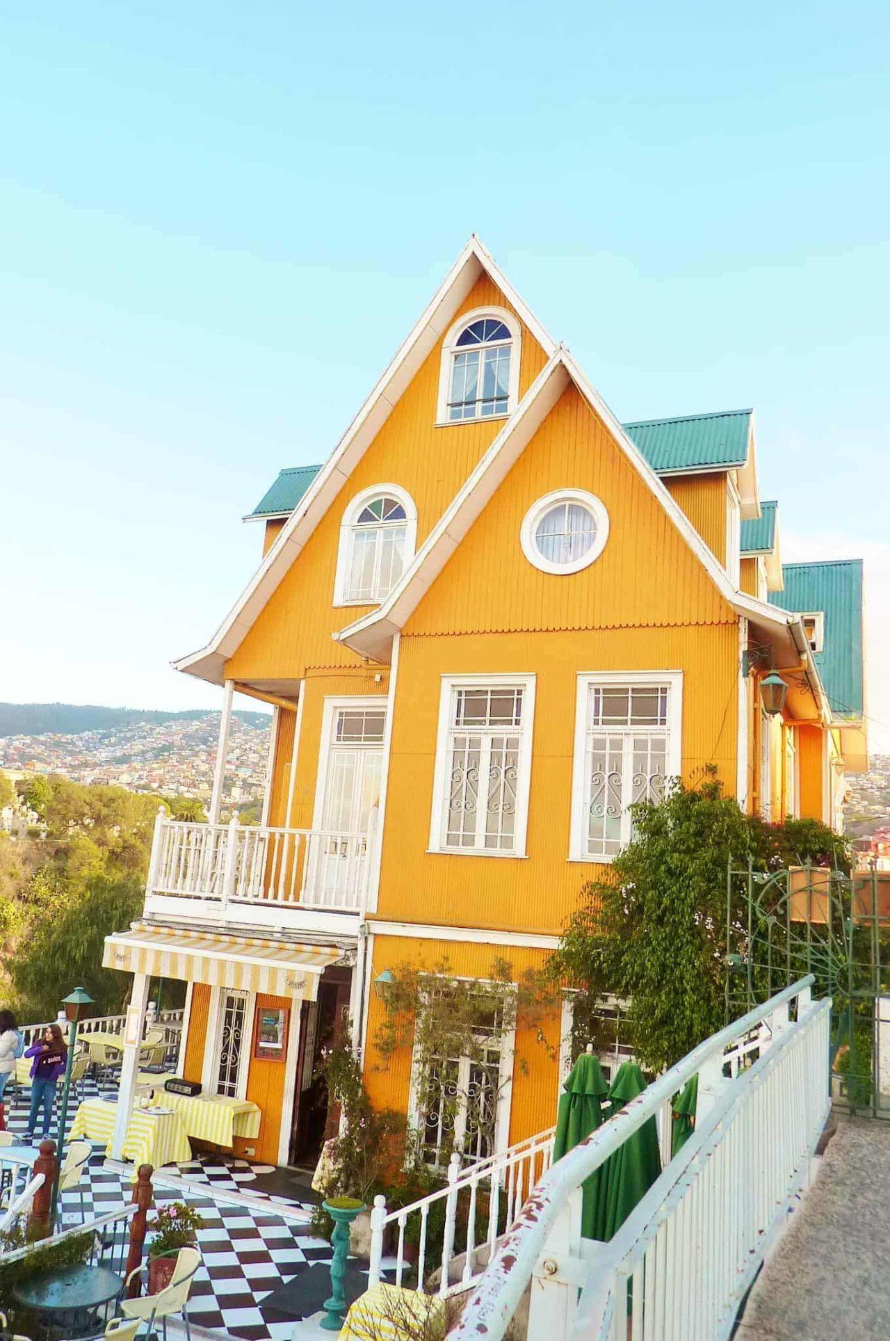 Valparaiso tour Santiago