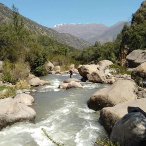 Fly Fishing from Santiago
