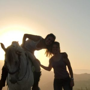 Horseback Ride Sunset