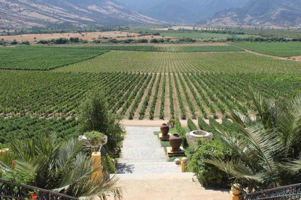 Colchagua Valley Chile Santa Cruz