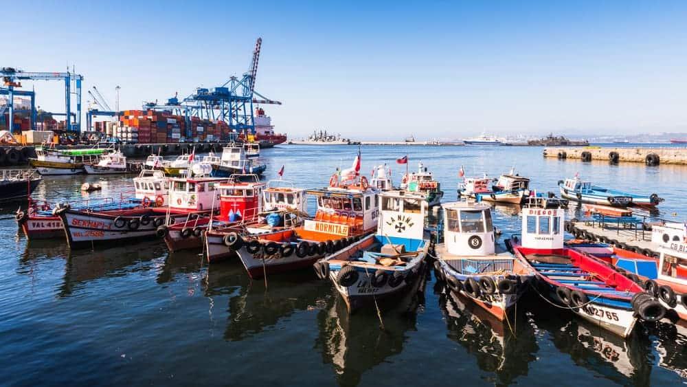 Santiago Chile - boats