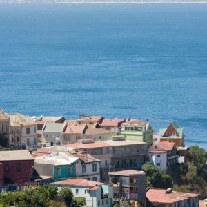 Santiago Chile - houses seaview