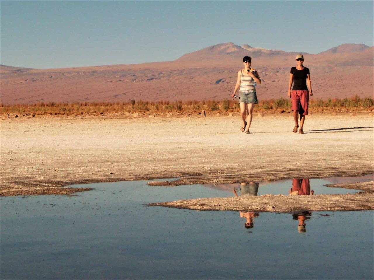 Salt Lakes Atacama Desert