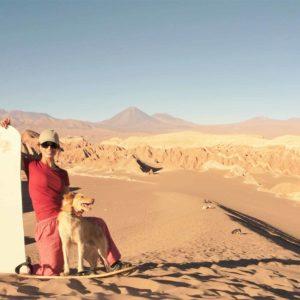 Sand dunes Atacama Desert